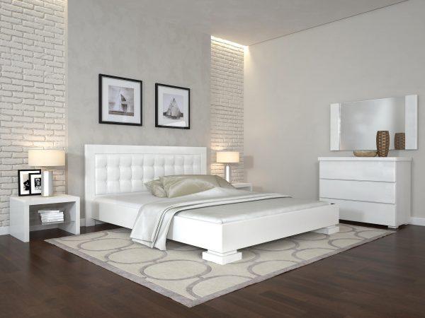 ARBORDREV ліжко Монако, білий