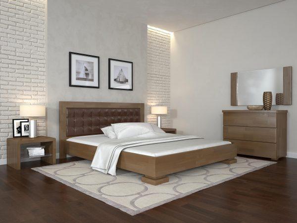 ARBORDREV ліжко Монако, горіх світлий