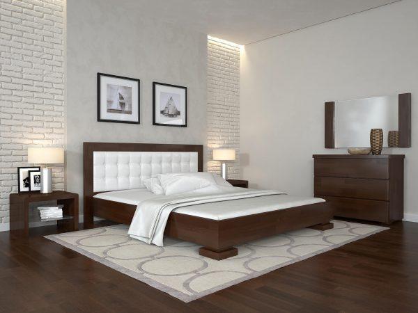 ARBORDREV ліжко Монако, горіх темний