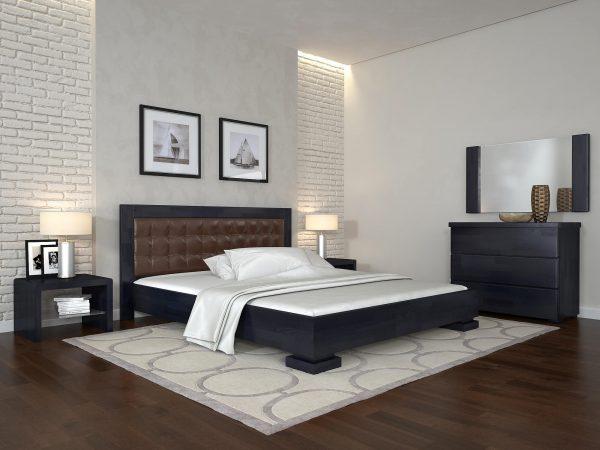 ARBORDREV ліжко Монако, венге темний