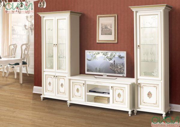Модульна вітальня ВЕРОНА від фабрики меблів СКАЙ