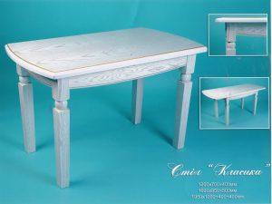 Столи Закарпаття - стіл з натурального дерева