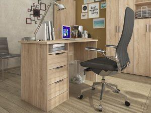 """Комп'ютерний стіл """"Студент"""", дуб самоа"""