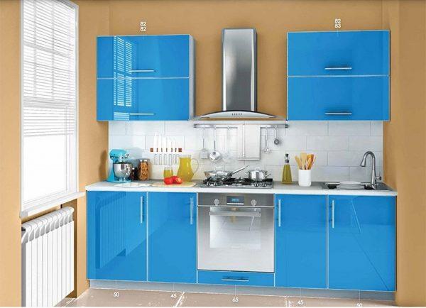 "Кухня ""MIRROR GLOSS"" 2,55 м"