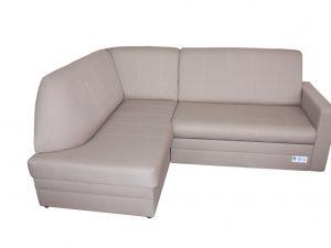 """Практичний диван в класичному стилі з м'якою спинкою. Місткий ящик для зберігання білизни під сидінням. Пружинні блоки по всій спальній частині, що робить диван дуже зручним для сидіння і сну. Каркас дивану виготовлений з твердих порід деревини. Механізм трансформаціі – """"дельфін"""""""