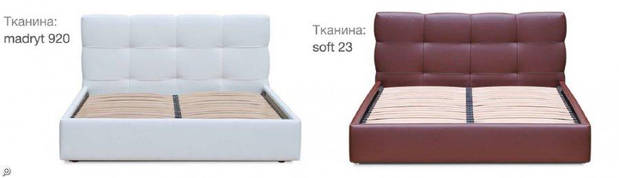 Кровать Милея - стильная, красивая кровать с мягким изголовьем