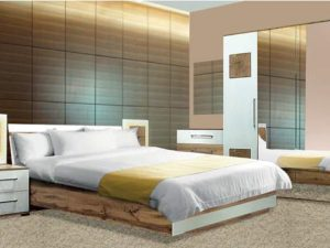 Модульна спальня Вудс від фабрики BRW
