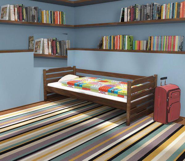 """Одноярусне ліжко """"Котигорошко"""""""