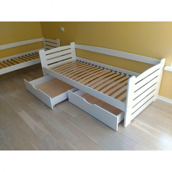 """Одноярусне ліжко з підйомним механізмом """"Карлсон"""""""