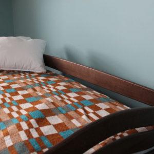 """Одноярусне ліжко з підйомним механізмом """"Колобок"""""""