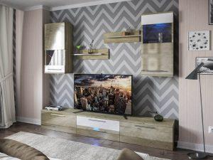 Стінка Челсі Світ-Меблів-це лаконічний і простий дизайн в стилі «мінімалізм» яка характеризується сучасним кольоровим виконанням, прямими формами.