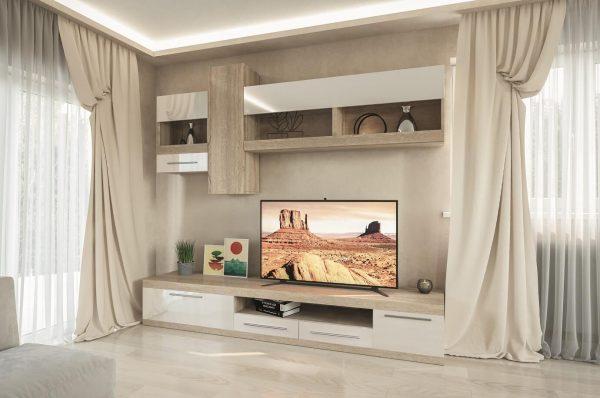 Вітальня Пальміра – прекрасний вибір для тих, хто віддає перевагу красивим та якісним меблям.