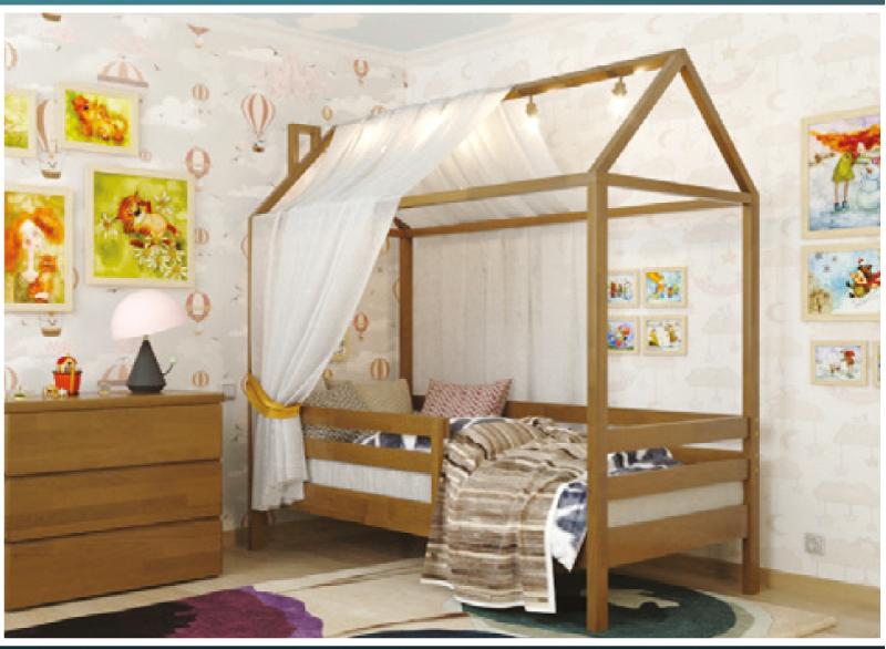 Дитяче ліжко Хатинка Джеррі / Cottage Jerry