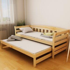 """Ліжко """"Тедді Duo"""" (масив бука)"""