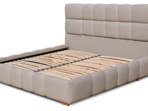 Ліжко двоспальне у м'якій оббивці Престиж