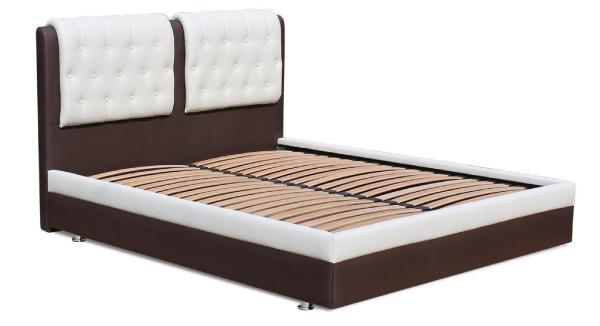 Ліжко двоспальне у м'якій оббивці Скарлет
