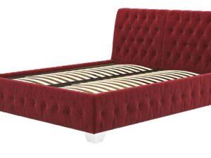 Ліжко двоспальне у м'якій оббивці Октавія