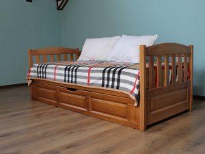 """Односпальне дитяче ліжко """"Немо"""" з підйомним механізмом"""