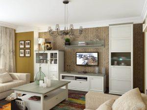 Модульні меблі вітальні Орегон