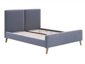 Ліжко двоспальне у м'якій оббивці Румба
