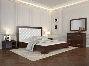 Двоспальне ліжко Подіум
