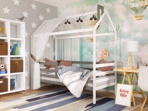 Дитяче ліжко Хатинка Том