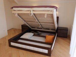 """Двоспальне ліжко з підйомним механізмом """"Амелія"""""""