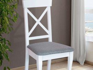 Стіл Джаз білий+стільці Сканді