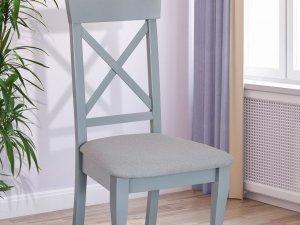Стіл Бостон сірий+стільці Сканді